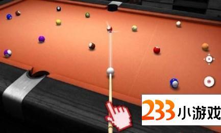 真实桌球3D- 233小游戏