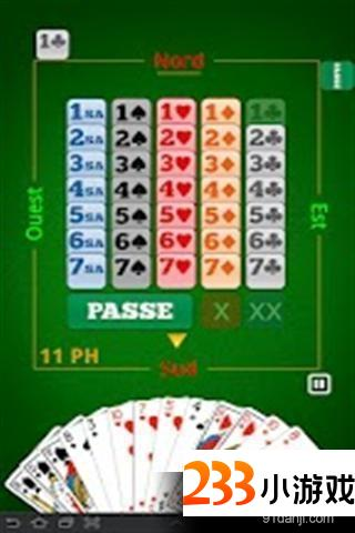 有趣的桥牌 - 233小游戏
