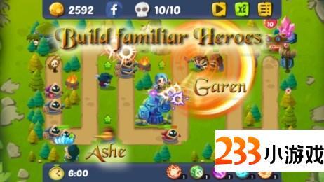 英雄捍卫者 - 233小游戏
