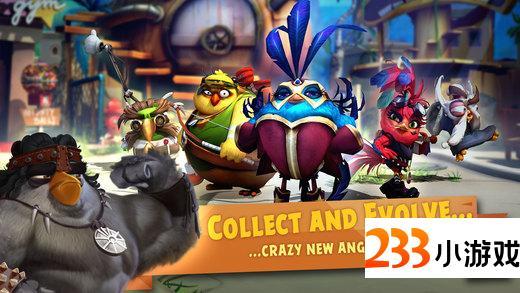 愤怒的小鸟进化 - 233小游戏