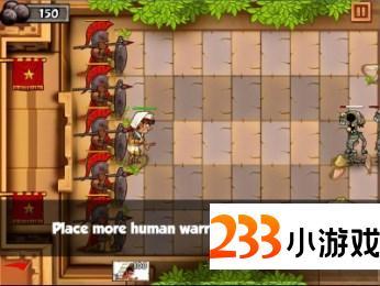 斯巴达之战修改版 - 233小游戏