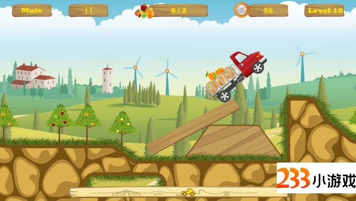 欢乐卡车:探险者 - 233小游戏