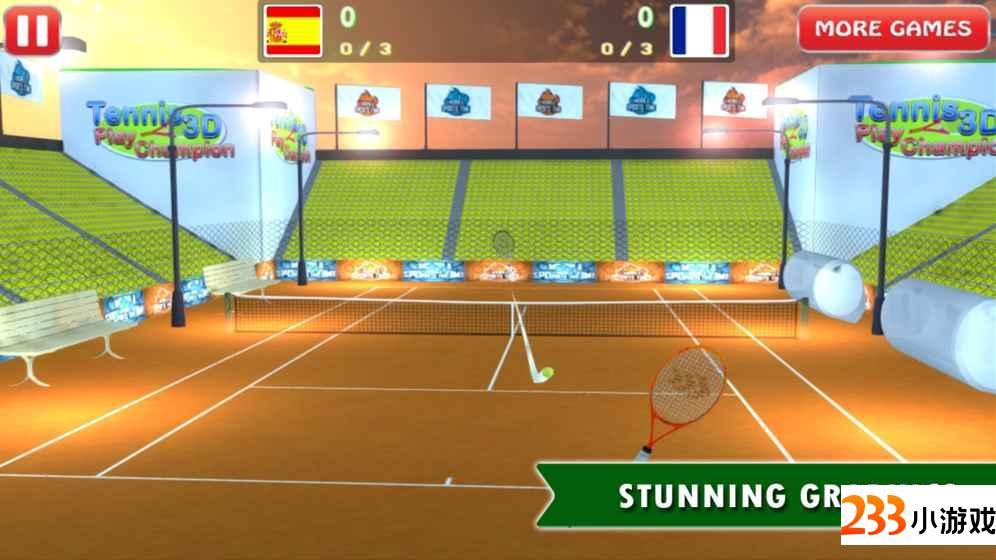 Tennis Championship Simulator - 233小游戏