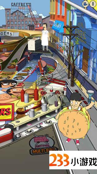 Bob's Burgers Pinball - 233小游戏