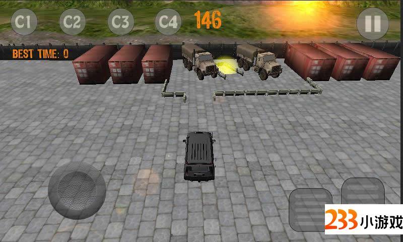 3D停车场 - 233小游戏
