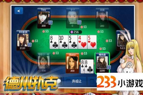 乐乐德州扑克 - 233小游戏