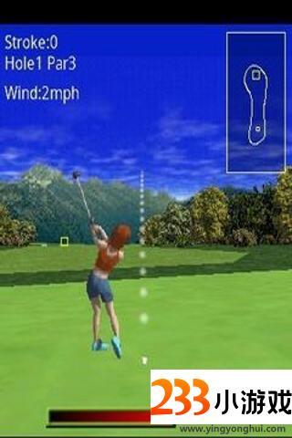 3D三维高尔夫游戏 - 233小游戏