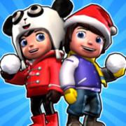 打雪仗SnowJinks - 233小游戏